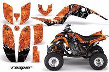 AMR Racing Yamaha Raptor660 Graphic Kit Wrap Quad Decals ATV 2001-2005 REAPER O