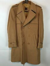 Vintage Men's Exclusive Europe Craft Import Double Breasted Wool Coat - Poland