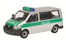 """Schuco Volkswagen VW T5 / T 5 """"Polizei"""" 1:87 Artikel 45 262 2000"""