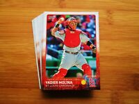 2015 Topps St. Louis Cardinals TEAM SET + Update (44) Cards