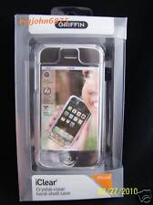 GRIFFIN iClear Hard Case  belt clip for iPhone 1st Gen ONLY
