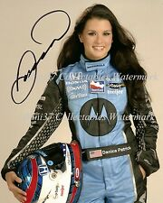 DANICA PATRICK INDY 500 AUTO RACING SIGNED AUTOGRAPHED 8X10 PHOTO RP