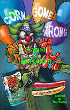 Corn Nuts: Ranch: Corn Gone Wrong: Evil Clown Print Ad