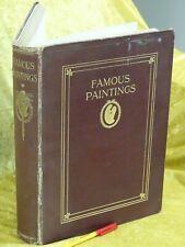 5 1/4 lb / 2.3 kg 1912 ART FAMOUS PAINTINGS  in Colour  G K Chesterton foreword
