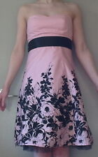 Pink & Black Dress Sz 8. Jane Norman. New with tags.