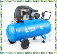 Compressore a cinghia 200 lt ABAC A29B 200 CM3 professionale aria compressa 3 HP