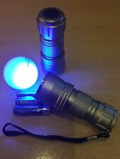 Golf Balls - Find Your Own  - 2 Deluxe Low Light Torches - FREE BATTERIES