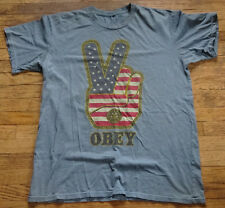 OBEY PEACE SIGN T - Shirt