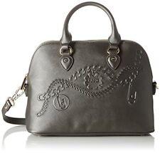 Liu Jo Damen Handtasche Designertasche Shopping M Corallo Neu Farbe Gun Metal