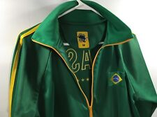 2010 Africa World Cup Brasil Brazil Football Futbol Soccer Track Jacket Jaguar