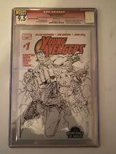 Young Avengers #1 CGC 9.5 Wizard World VIP Edition Sketch Variant #30 of 285 HTF