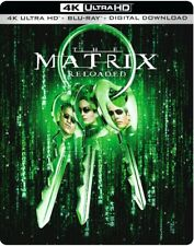 The Matrix Reloaded 4K Ultra HD & Blu-ray Steelbook New With Free Delivery!