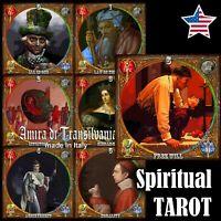 Tarot card deck spiritual esoteric major arcana divinatory wicca wiccan oracle
