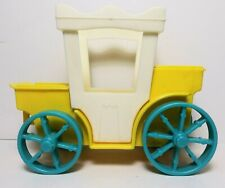 Vintage Fisher Price Little People Castle Carriage King's Royal Coach #993