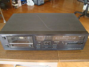 Harman/kardon TD102 2 Head Cassette Deck Recorder Tested Great Working Condition