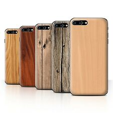 STUFF4 Phone Case/Back Cover for Apple iPhone 7 Plus /Wood Grain Effect/Pattern