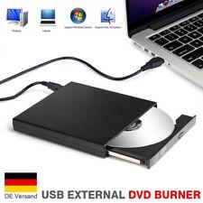 Externer USB DVD Laufwerk Brenner CD-RW Laufwerk Drive Extern Brenner PC Laptop
