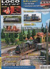LOCO REVUE N°724 novembre 2007 reseau HO l'alsace