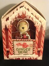 1992 MUFFY VANDERBEAR as GingerBear in box w/ Tag+Recipe book