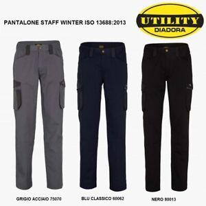 Pantalone da lavoro DIADORA modello STAFF WINTER 702.171659 INVERNALE