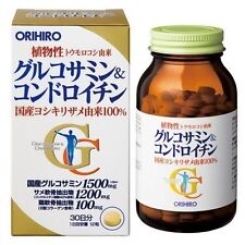 ORIHIRO Glucosamine and Chondroitin 360 tablets for 30 days for joint pain