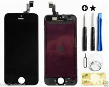 TOUCH SCREEN VETRO SCHERMO + RETINA LCD Display PER iPhone 5S NERO AAA+++
