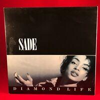 SADE Diamond Life 1984 UK Vinyl LP EXCELLENT CONDITION smooth operator
