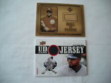MILWAUKEE BREWERS UPPER DECK ROBIN YOUNT & PRINCE FIELDER GAME JERSEY CARDS