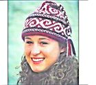 AWESOME 3 COLOR SWIRLS BRAIDED HAT to KNIT in WORSTED WEIGHT YARN - FIBER TRENDS