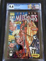 New Mutants 98 CGC 9.4 NM not 9.8 HOT LABEL 1st Deadpool Gideon Copycat Domino