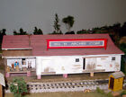 Wm ARCHER CORP FEED STORE HO Model Railroad Structure Unpainted Laser Kit BR107