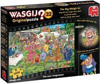 NEW Jumbo Wasgij Original 32 The Big Weigh In 1000 Piece Jigsaw Puzzle 19170