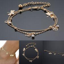 Nice Fashion Gold Bead Chain Ankle Bracelet Barefoot Sandal Beach Foot Jewelry