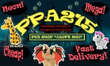 🔥CHEAPEST , FAST DELIVERY 🔥 ADOPT ME PET SHOP