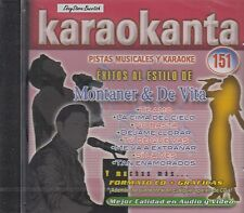 Ricardo Montaner y Franco de Vita Karaoke New Nuevo Sealed
