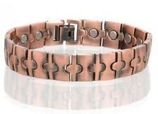 NEW COPPER MAGNETIC LINK BRACELET mens womens STYLE#LP  jewelry health Energy