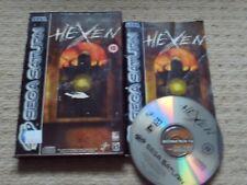 HEXEN   - Rare Boxed Sega Saturn Game