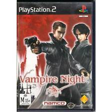 PLAYSTATION 2 VAMPIRE NIGHTS PS2 PAL G-CON 45 GUN NOT INCLUDED SHOOTER M [LN]