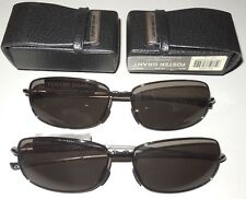 2 Pair Gilligan Foster Grant Folding Sunglasses Faux Leather Case MSRP $59.98