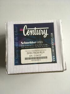 Century Schneider 0HD-75CV-XLH 0.75 X HD Wide Angle Converter Canon XL-2 XL-H1