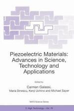 Nato Science Partnership Subes 3: Piezoelectric Materials : Advances in...