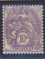 France Stamp Scott #115, Mint Hinged