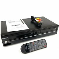 Toshiba SD-V296 DVD VCR Combo Player Video Cassette Recorder With Remote Manual
