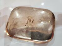 """ANTIQUE """"Weimer""""  Metal Pocket Cigarette, Cigar Ashtray Case. 3316.18"""