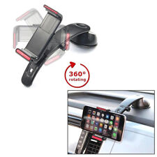 Support Smartphone 3 en 1 Pare-brise Tableau de bord Voiture Sortie Aération /BK