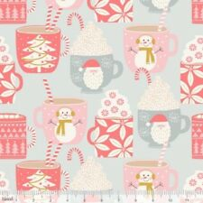 Blend Kringle's Sweet Shop 101 141 02 1 Grey Cups of Cocoa  Cotton