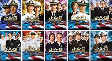54 DVDs * JAG - IM AUFTRAG DER EHRE STAFFEL /SEASON 1 - 10 IM SET MB # NEU OVP +