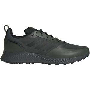 Mens Adidas RunFalcon Trail Green Hiking Athletic Running Shoe FZ3579 Sizes 8-13