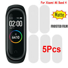 5Pcs For Xiaomi Mi Band 4 Frosted Tempered Glass Full Screen Protector Soft Film
