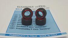 Tameo PWT29 1/43 Scale 1 Set Tyres Soft Red PIRELLI P Zero F1 Slick Tyres